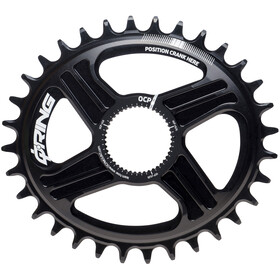 Rotor QX1 Q-Ring Chainring 1x DM black